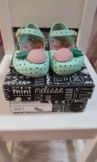 Mini Melissa Shoes Size 7