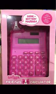 Smiggle Calculator Pink ( kalkulator )