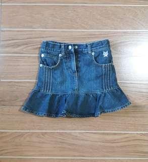 Denim Skirt   4t