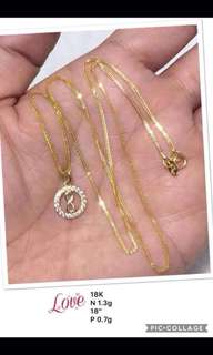Click to view- Genuine 18K Gold