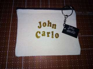 Personalized coin purse and keychain
