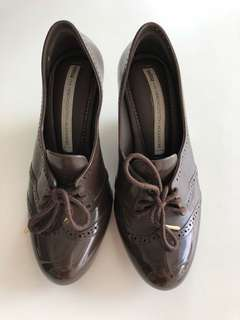 Brown Melissa shoes