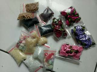 All Beads and flowers