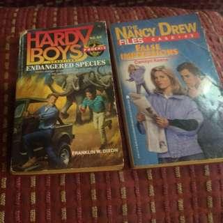 Hardy Boys and Nancy Drew Books