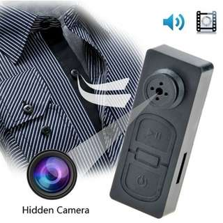 Hidden DV Spy Camera Button Video Mini Cam DVR Camcorder Voice Recorder