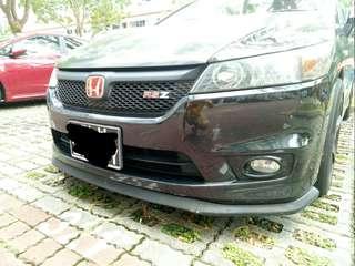 Rare Fiberglass front lip for Honda stream
