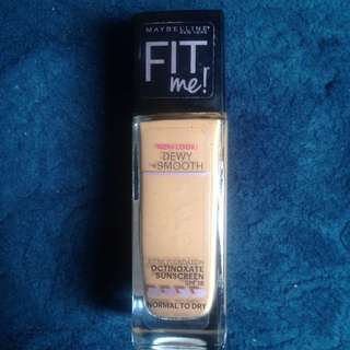 Maybelline Fit me Dewy +Smooth