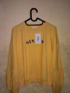 Sinkin naolin top gaudiclothing yellow