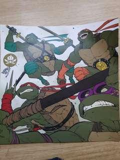 TMNT Print Poster