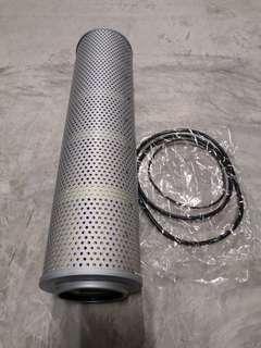 Excavator hyd filter