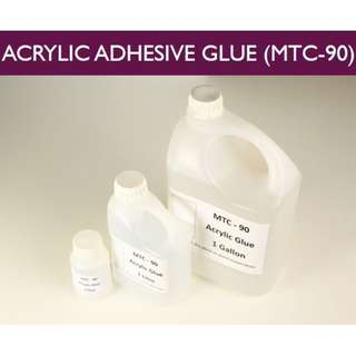 MTC-90 Industrial Strength Plastics Glue ( Acrylic ABS Polystyrene Butyrate Polycarbonate) 150ml