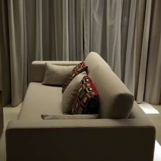 Sofa customed made with very good fabric from UK