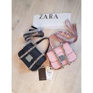 Promo !!! Zara crossbody 2in1 rantai ori