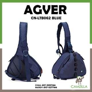 Agver CN-LTB062 Single Shoulder SLR Camera Bag Nikon Canon Photographic Bag Backpack Professional Anti - Theft Digital Camera Bag