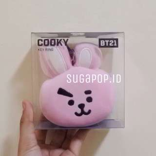BT21 OFFICIAL TATA COOKY FACE KEYRING