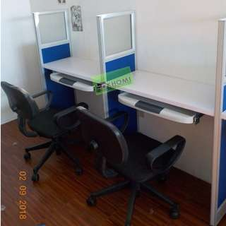 6 SEATER OFFICE CUBICLE  WORKSTATIONS--KHOMI