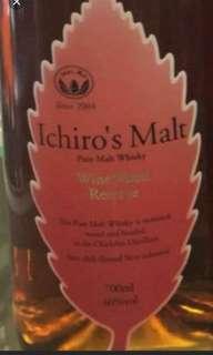 羽生秩父紅葉威士忌700mI