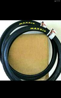 """Maxxis pace 26""""*1.95 and 27.5""""*2.1 Mountain Bicycle tyres ( Made in Taiwan )"""