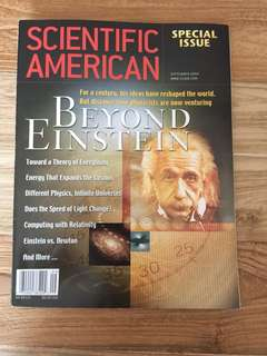 Einstein special issue Scientific American