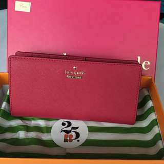 NWT Kate spade Stacy Cameron Street ladies wallet