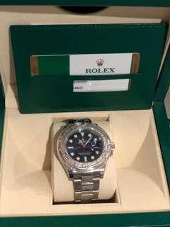 Rolex Yacht master - Blue
