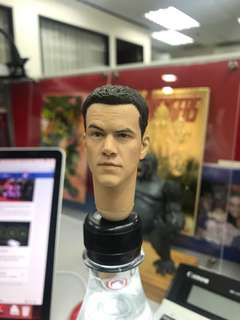 1/6 scale, Matt Damon, head, hottoys, enter bay, 1:6 scale