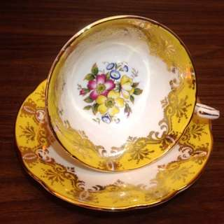 英國絕版名瓷Paragon派拉岡骨瓷杯盤組