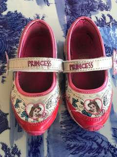 Disney princess shoes (light)