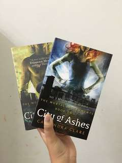 Mortal Instruments City of Bones and Ashes