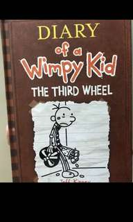 Diary of A Wimpy Kid: The Third Wheel (Hardbound)