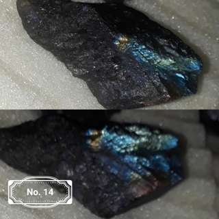 Very nice Rough Labradorite, unpolish with blue to multi colour shin. Good price.