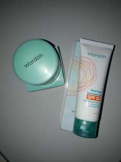 Wardah Sun Screen & Night Cream Essential