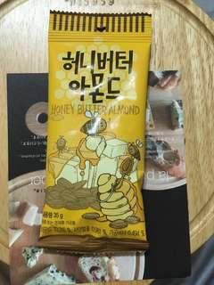 韓國蜂蜜奶油杏仁 🇰🇷