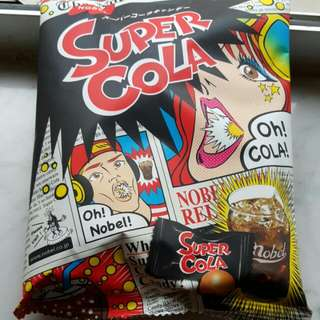 Nobel - 超酸可樂糖 Super Cola Candy