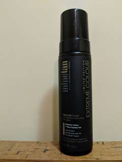 MINE TAN absolute extreme colour foam 200ml limited edition fake tan