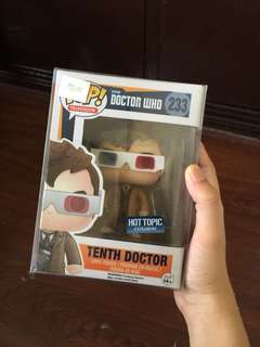 Funko Pop Tenth Doctor with 3D Glasses #233