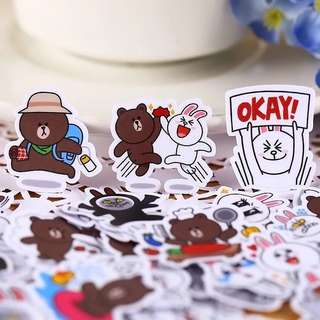 [ST]  Bujo Packet: Line Cony and Brown
