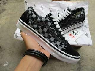 Vans Oldskool Checkerboard Grey Black (Waflee DT)