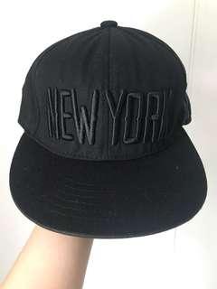 "Black ""New York"" SnapBack"
