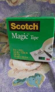 3 3m Magic Tape 3/4 in * 1296 in