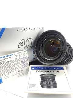 Hasselblad Zeiss Distagon CF 40mm F4T*
