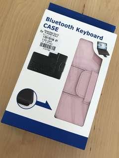 """Samsung Galaxy Tab A 8"""" Casing with Bluetooth Keyboard(Pink)"""