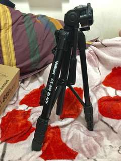 TRIPOD VELBON CX-888 (LIKE NEW) Komplit dus