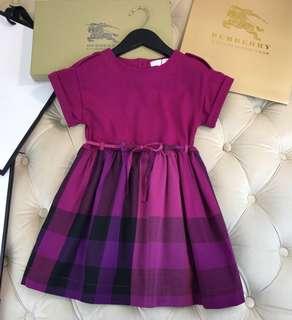 Burberry 童裝dress