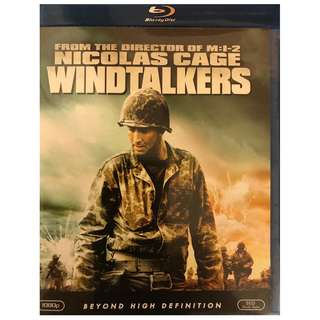BLU RAY - WINDTALKERS (ORIGINAL USA IMPORT)