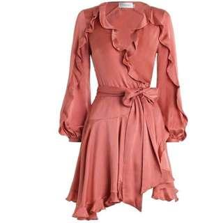 Zimmermann Winsome Flutter Robe Dress Size 1