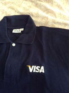 VISA polo shirt