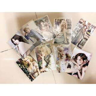 🚚 少女時代 太妍 金泰妍 絕美寫真攝影照片 共9張 加送小筆記本一本