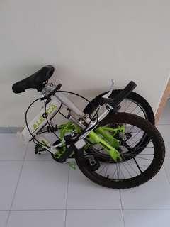 Aleoca Zoom Foldable Bike
