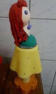 🚚 美人魚公主黏土